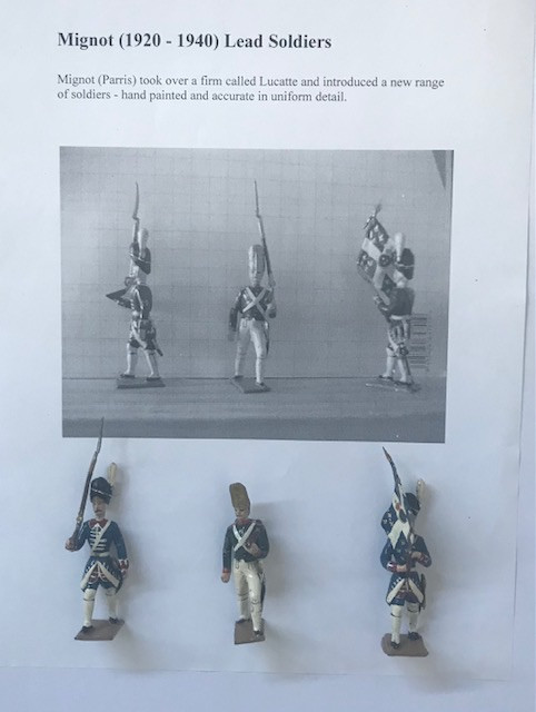 Hand painted Lead soldiers