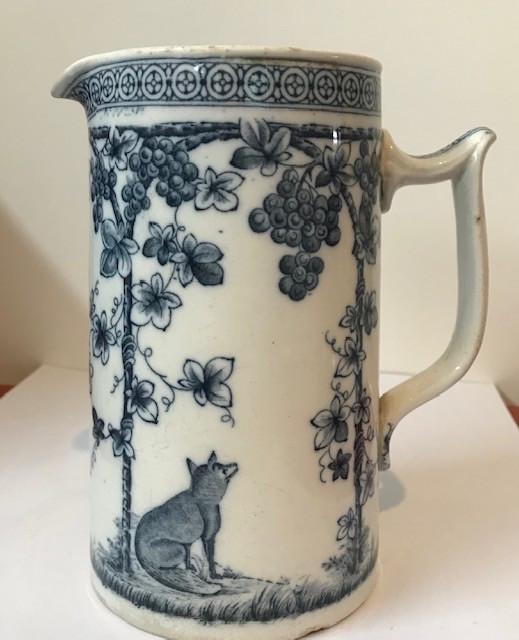 Large Milk jug - late Victorian