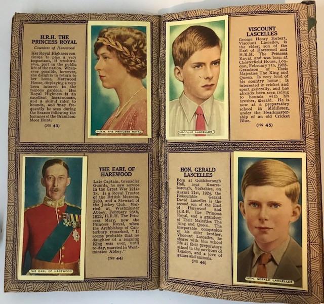 Cigarette cards ..