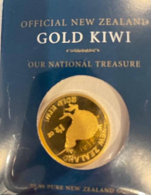 Gold Bullion - Kiwi coin