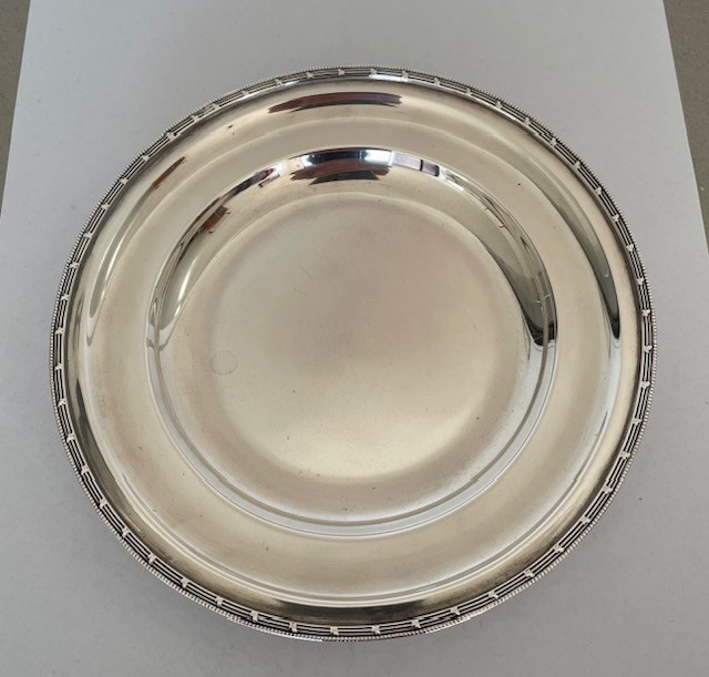 Silver dish - Asprey